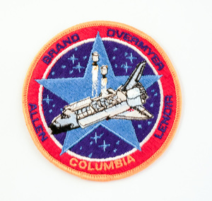 Image of Space  Mission Patch, STS-5 Columbia, 11- 16 November 1982 DUNIH 2018.7.13