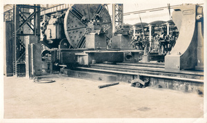Image of Photograph of Large Lathe in Angus Mill, Calcutta DUNIH 2018.16.2.4