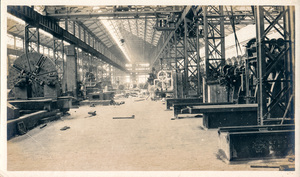 Image of Photograph of the Machine Shop Section in Angus Mill, Calcutta DUNIH 2018.16.2.7