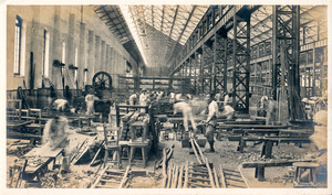 Image of Photograph of the Joiner's Shop in Angus Mill, Calcutta DUNIH 2018.16.2.8