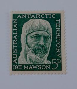 Image of Australian Antarctic Territory stamps- Douglas Mawson DUNIH 2018.27.3