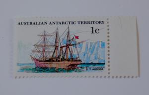 Image of Australian Antarctic Territory stamps- S.Y. Aurora DUNIH 2018.27.4
