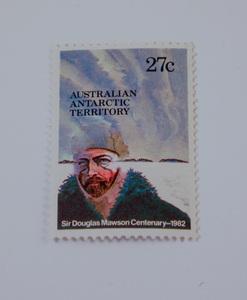 Image of Australian Antarctic Territory stamps- Douglas Mawson DUNIH 2018.27.9