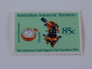 Image of Australian Antarctic Territory stamps-Aneroid Baronmeter DUNIH 2018.27.10
