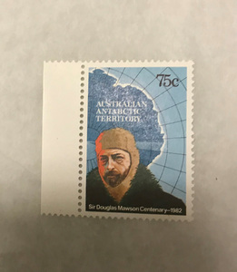 Image of Australian Antarctic Territory stamps- Douglas Mawson DUNIH 2018.27.5