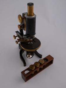 Image of Leitz microscope W 79.133.19